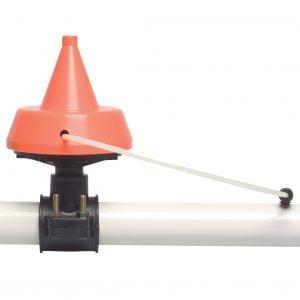 Vacuümregulateur 1″ 3500 ltr/min oranje corr. Gascoigne Melotte D700150