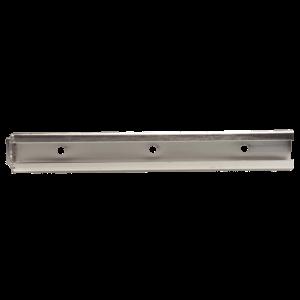 RVS bevestigingsrail horizontaal 300 mm