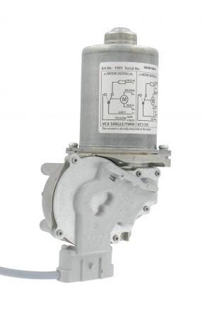 Doseermoter 40rpm grijs 24V DC corr. GEA met kabel