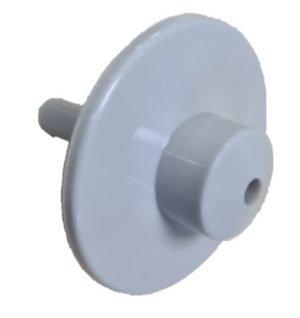 Spoeldop Uniflow kunststof grijs corr.SAC 23342181